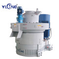 Yulong 220KW Machinery Pressing Wood Pellets